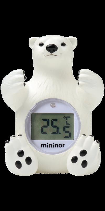 Badetermometer Isbjørn