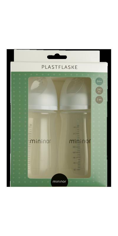 Plastflaske 240ml 2m+ 2-pak